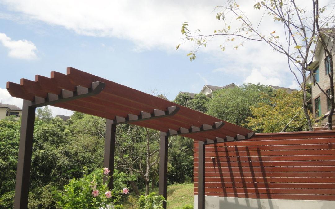 巴杜柳安-青山鎮私宅花架圍籬