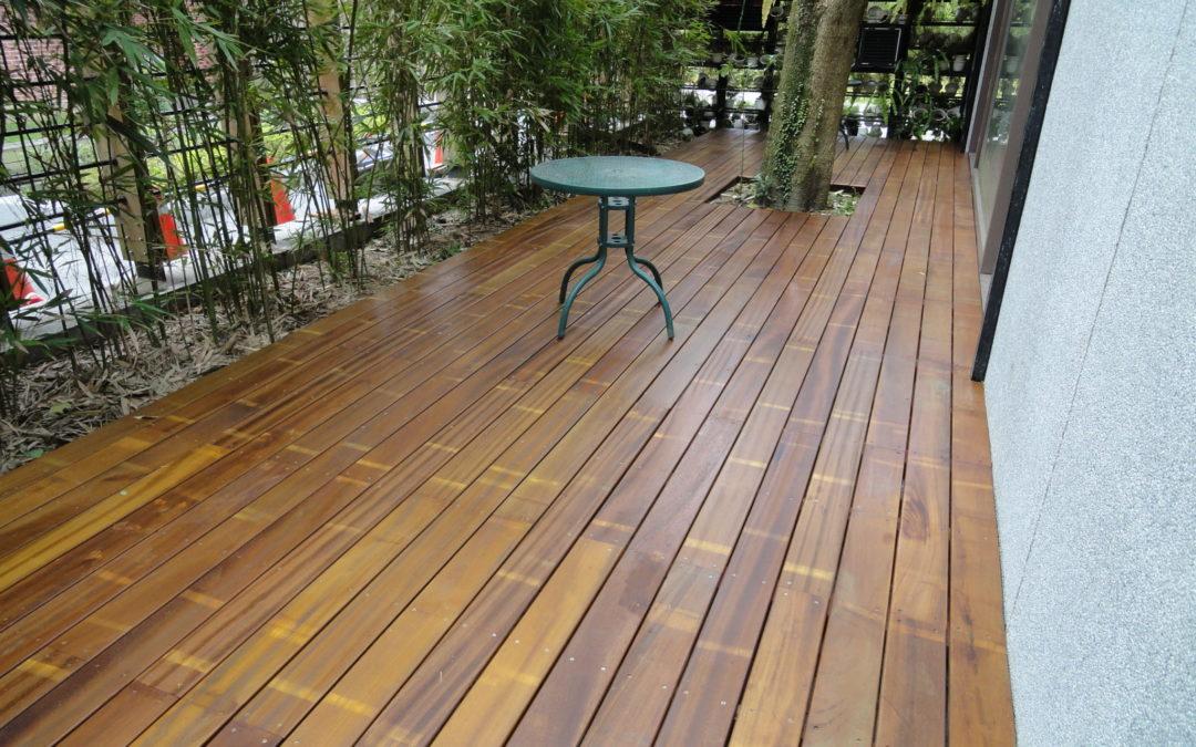 金檀木-庭園戶外地板-中庭地板